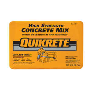 Quikrete  Ready-to-Use Concrete Mix  80 lb.