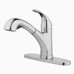 OakBrook  Pacifica  One Handle  Chrome  Pull Out Kitchen Faucet