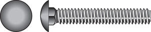 Hillman  5/16 in. Dia. x 2-1/2 in. L Zinc-Plated  Steel  Carriage Bolt  100 pk
