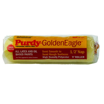 Purdy  Golden Eagle  Polyester  1/2 in.  x 9 in. W Paint Roller Cover  1 pk