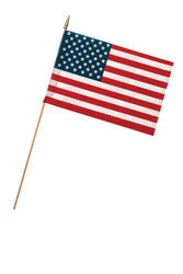 Valley Forge  American  Flag  12 in. H x 18 in. W
