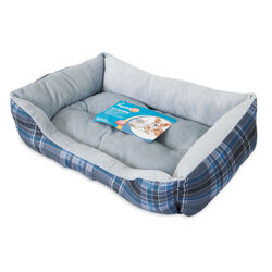 Aspen Pet Assorted Polyester Pet Bed 4.5 in. H x 15 in. W x 20 in. L