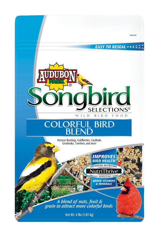 Audubon Park  Songbird Selections  Assorted Species  Wild Bird Food  Millet  4 lb.