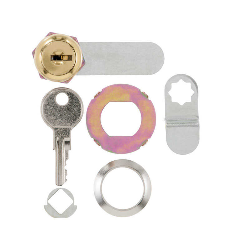 Ace  Bright Brass  Silver  Brass  Cam Lock