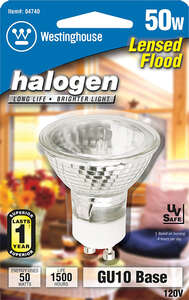 Westinghouse  50 watts MR16  Halogen Bulb  330 lumens 1 pk Floodlight  White