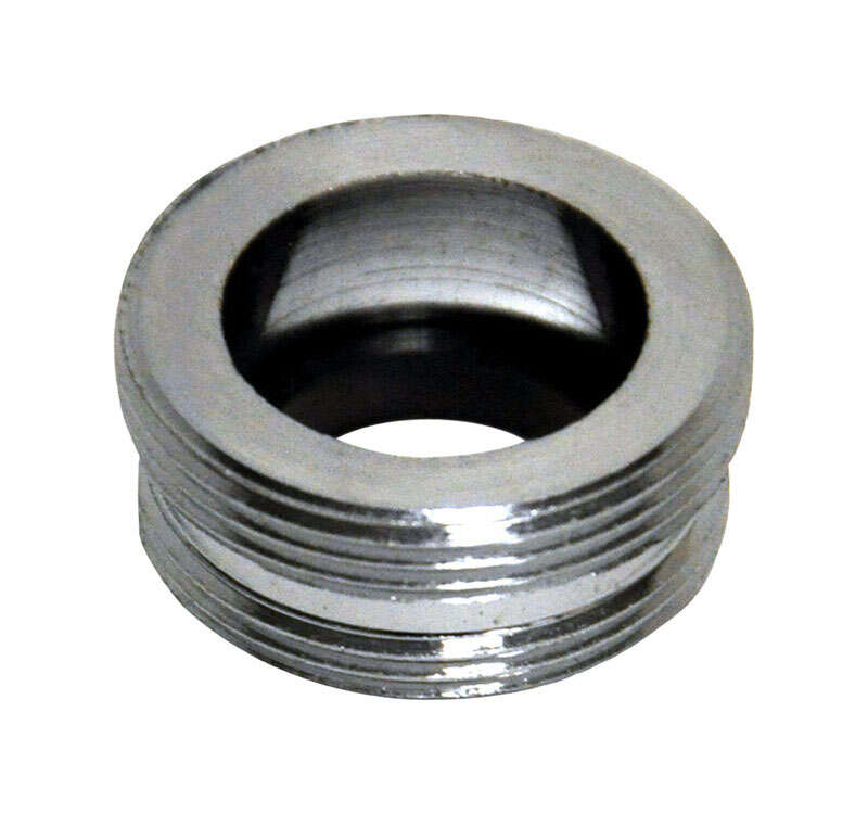 Danco  Male Thread  55/64 in.-27M x 13/16 in.-27M  Chrome Plated  Aerator Adapter