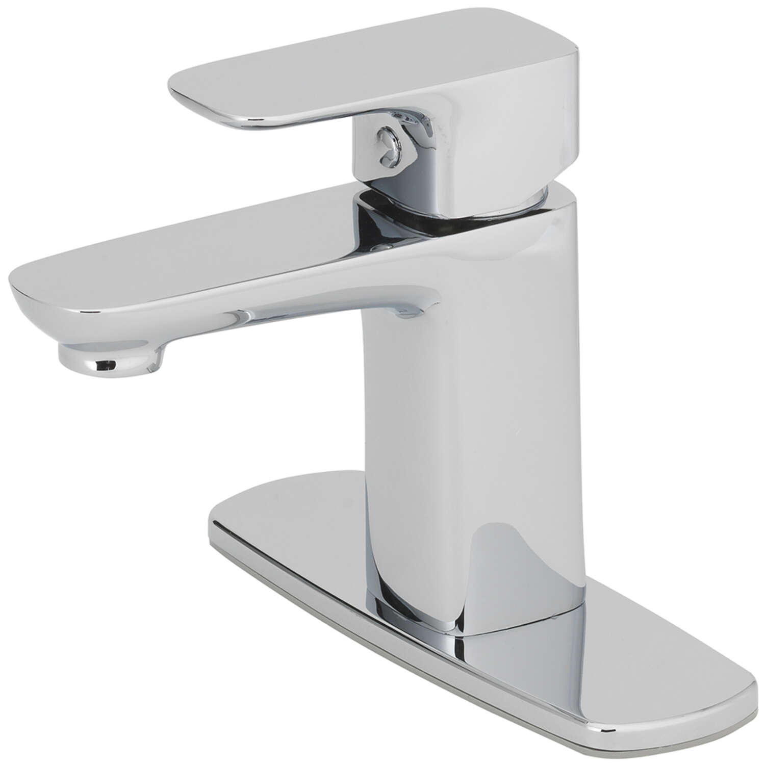 OakBrook  Modena  Moderna  Brushed Nickel  Single Handle  Lavatory Pop-Up Faucet  2 in.