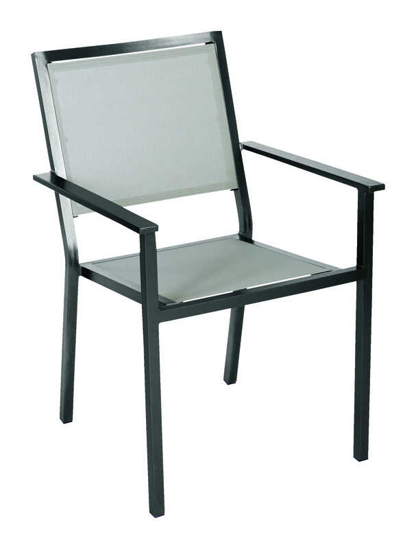 Living Accents  Black  Aluminum  Aria  Chair