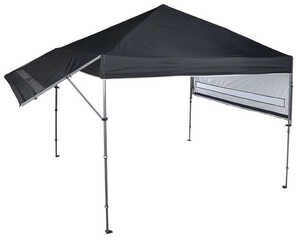 Quik Shade  Solo Steel Summit 170+  Polyester  Canopy  17 ft. L x 10 ft. W