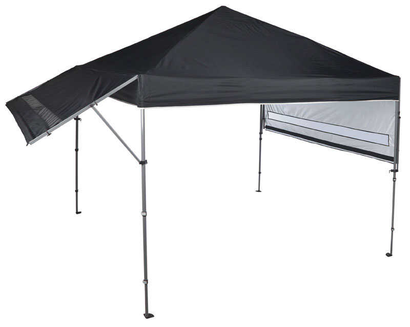 Quik Shade Solo Steel Summit 170 Polyester Canopy 10 Ft W X 17 Ft