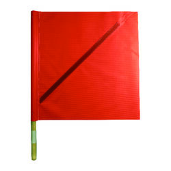 C.H. Hanson  27 in. Red  Safety Flags  Polyvinyl  1 pk