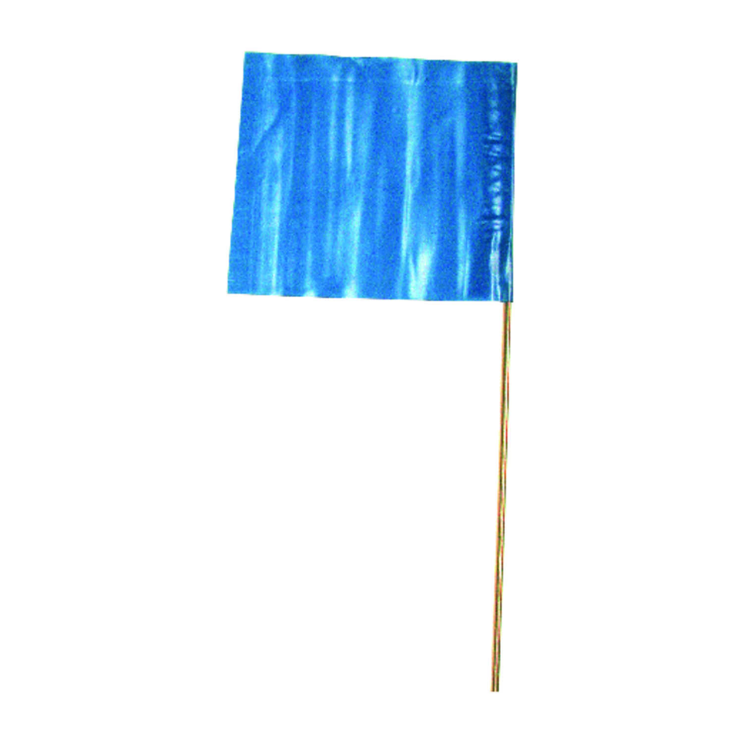 C.H. Hanson  15 in. Blue  Marking Flags  Polyvinyl  100 pk