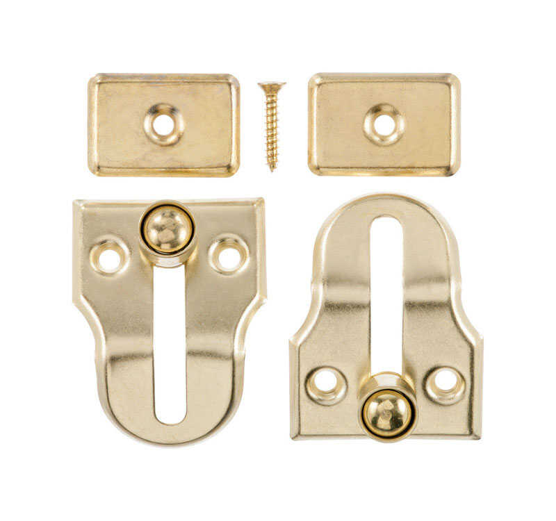 Ace  Metallic  Brass  2 pk Window Lock