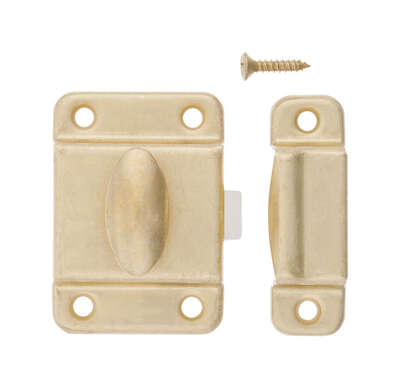 Ace  Satin Brass  Steel  Turn Buttons  1 pk