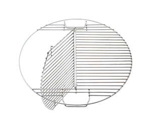 Pit Barrel Cooker  Plated Steel  Hinged Grill Cooking Grate  2 in. L