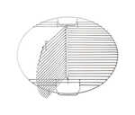 Pit Barrel Cooker Co.  Plated Steel  Hinged Grill Cooking Grate  Pit Barrel Cooker 18.5 in.