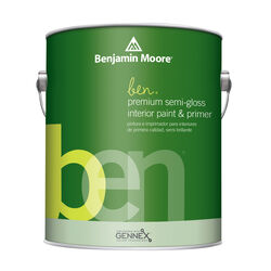 Benjamin Moore Ben Semi-Gloss Base 1 Paint Interior 1 gal.
