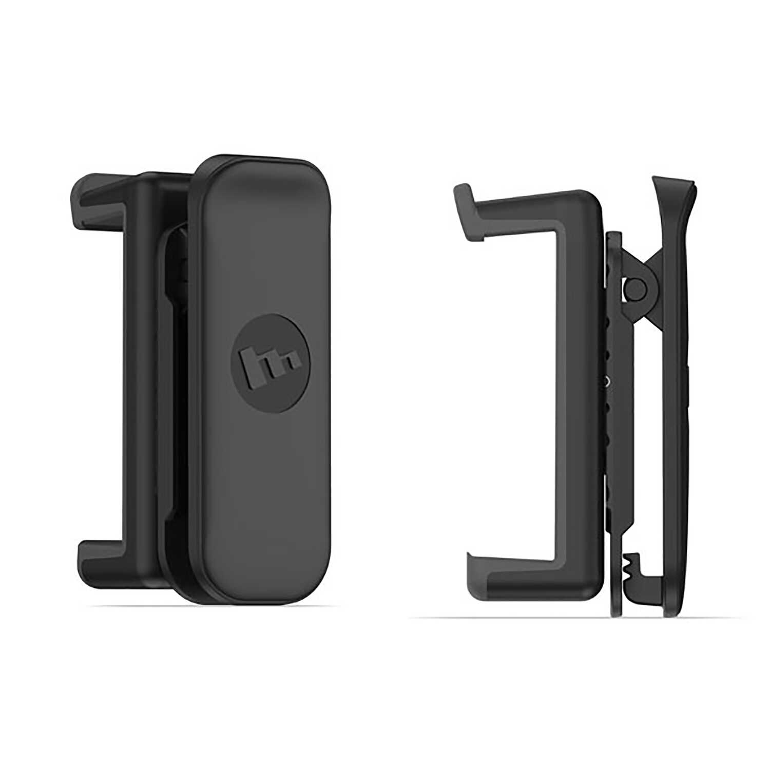 best service bc2d6 e0536 mophie Black Belt Clip and Phone Holder For Smartphones Virtually ...