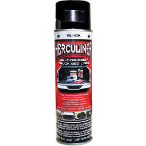Herculiner  Black  Truck Bed Coating  15 oz.