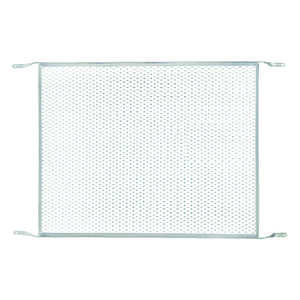 M-D Building Products  Mill  Silver  Aluminum  Door Grille  1 pk