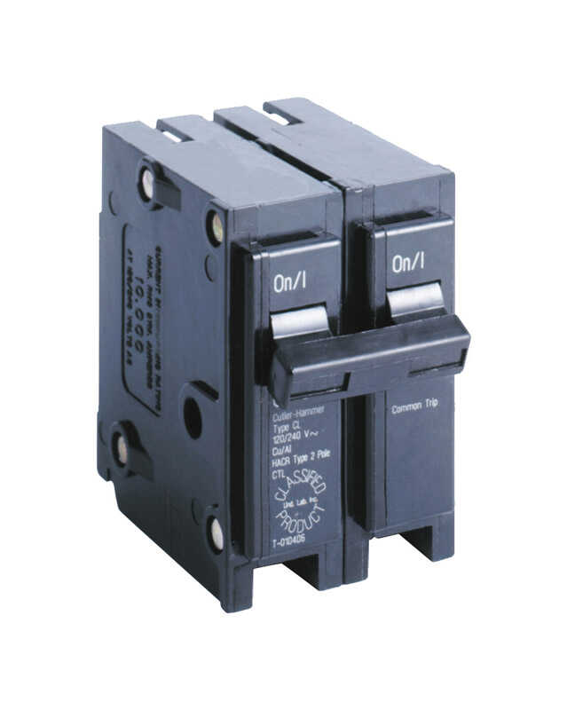 Eaton  Cutler-Hammer  30 amps Plug In  2-Pole  Circuit Breaker