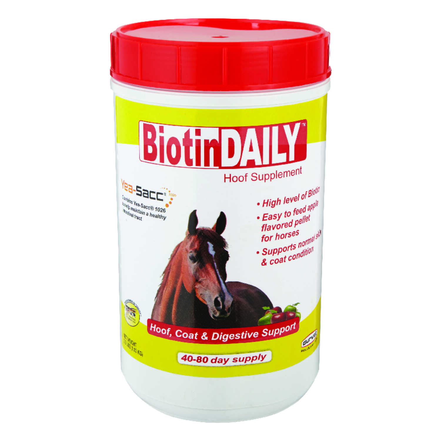 Boitin Daily  Solid  Hoof and Digestive Supplement  For Horse