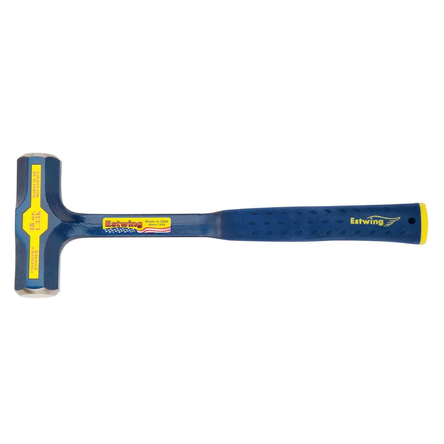 Estwing  3 lb. Steel  Engineer Hammer  6 in. Steel Handle