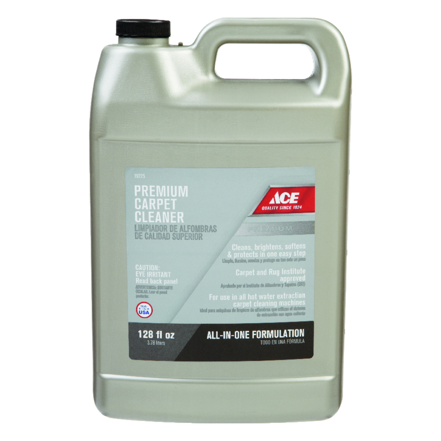 Ace  Premium  Oxy Carpet Cleaner  128 oz. Liquid  Concentrated