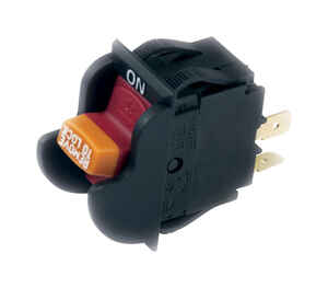 Gardner Bender  Single Pole  Rocker  Power Tool Switch  Black/Red  1 pk