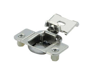 Amerock  2-5/16 in. W x 2-3/8 in. L Nickel  Steel  Adjustable Concealed Matrix Blum Hinge  2 pk