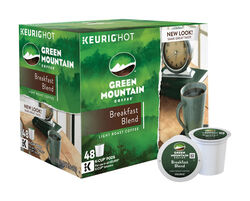 Keurig  Green Mountain Coffee  Breakfast Blend  Coffee K-Cups  48 pk