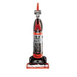 Bissell  CleanView  Bagless  Corded  Upright Vacuum Cleaner  8 amps Orange  Multi-level