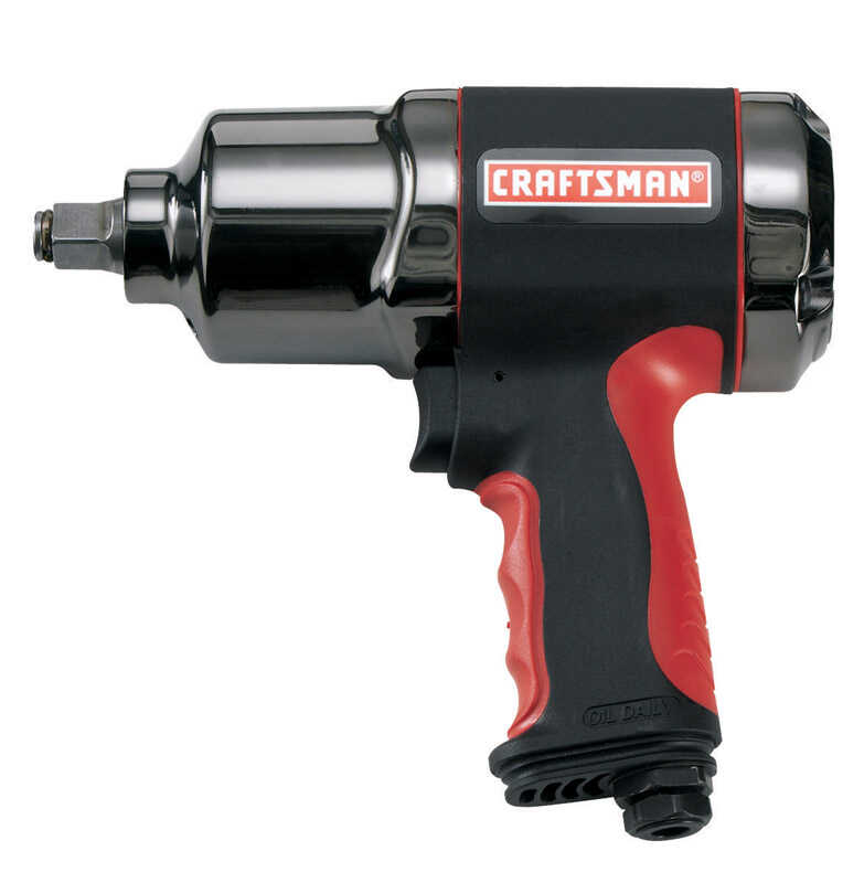 Craftsman  1/2 in. drive Air Impact Wrench  90 psi 580 ft./lbs. 7000 rpm