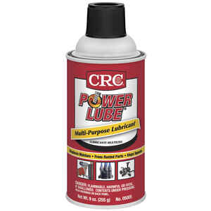 CRC  Power Lube  Liquid  Penetrating Solvent  9 oz. 1 pk