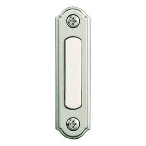 Heath Zenith  Satin Nickel  Pushbutton