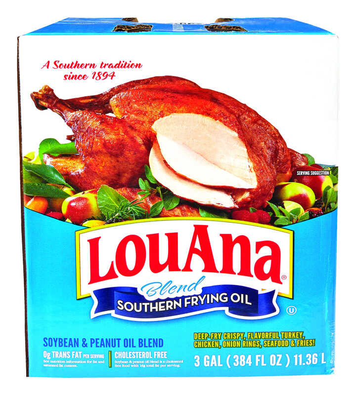 LouAna  Peanut  Frying Oil  384 oz. Boxed  384 oz.