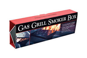 Charcoal Companion  Gas Grill  Stainless Steel  Smoker Box