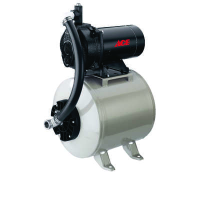 Ace  1/2 hp 540 gph Stainless Steel  Convertible Jet Pump