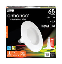 FEIT Electric  Enhance  PAR30  E26 (Medium)  LED Bulb  Soft White  65 Watt Equivalence 1 pk