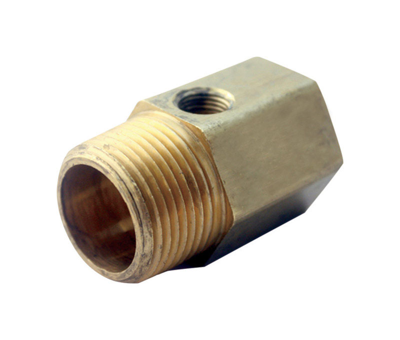 ACE  3/4 in. 3/4 in. Dia. x Female   Male  1/8  FPT  Brass  Adapter