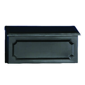 Gibraltar  Plastic  Windsor  Mailbox  15 in. W x 4 in. L x 7-1/4 in. H x 7-1/4 in. H Wall-Mounted  B