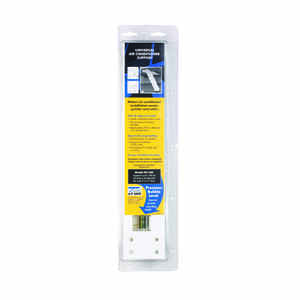 AC Safe  White  Steel  Universal Air Conditioner Support  160 lb.