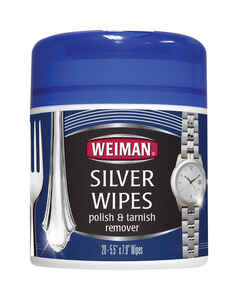 Weiman  Floral Scent Silver Polish  20 pk Wipes
