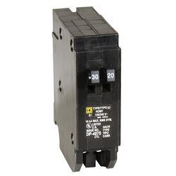 Square D Schneider-Electric 120/240 amps Plug In Single Pole Circuit Breaker