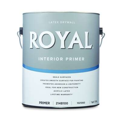 Royal  Primer  Flat  Latex  Drywall Primer  1 gal.