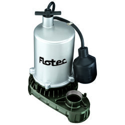 Flotec  1/2 hp 6,000 gph Zinc  Tethered Float  AC  Sump Pump
