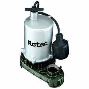 Flotec  1/2 hp 6000 gph Zinc  Submersible Sump Pump