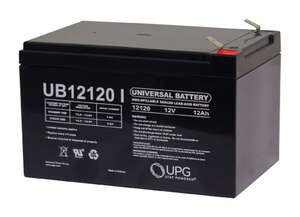Universal Power Group  U12120  12 amps Lead Acid Automotive Battery