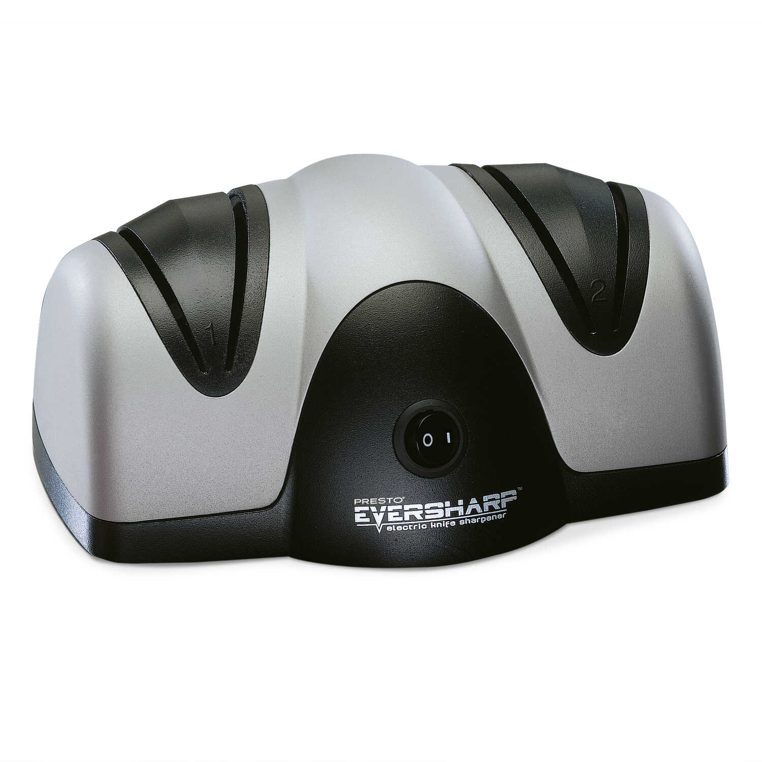 Presto  Eversharp  Matte  Plastic  2  Knife Sharpener  Multicolored