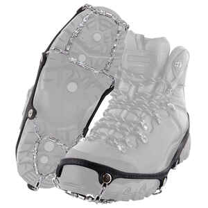 Yaktrax  DIAMOND GRIP  Unisex  Rubber/Steel  Snow and Ice Traction  Black  W 7.5-10/M 6.5-9  Waterpr